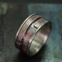 Unique Mens Ring , Men's Engagement Ring , Mens Wedding Band