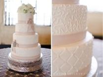 Wedding Cake Ribbon Photo Album