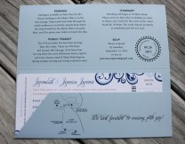 Wedding Cruise Invitations