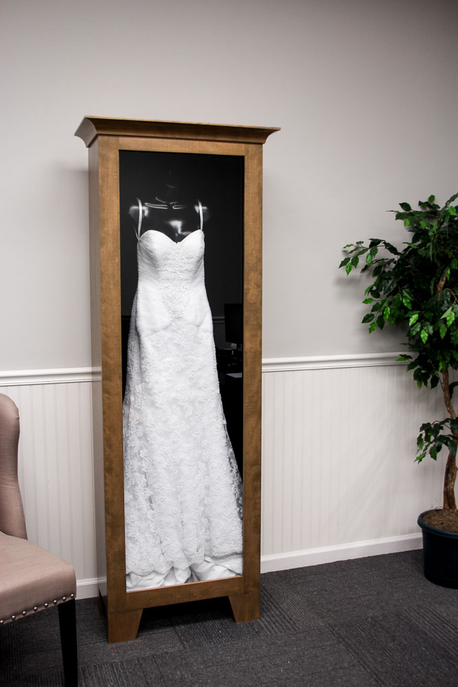 Wedding Dress Display Box