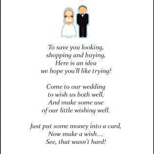 Wedding Gift Poems Asking For Money Home Improvements 50 Wedding