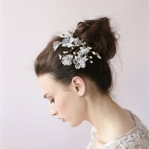 Wedding Hair Pieces Flowers Promotion