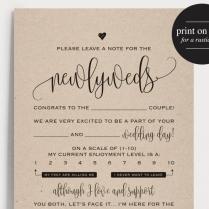Wedding Mad Libs, Mad Lib Printable, Wedding Advice, Mad Lib