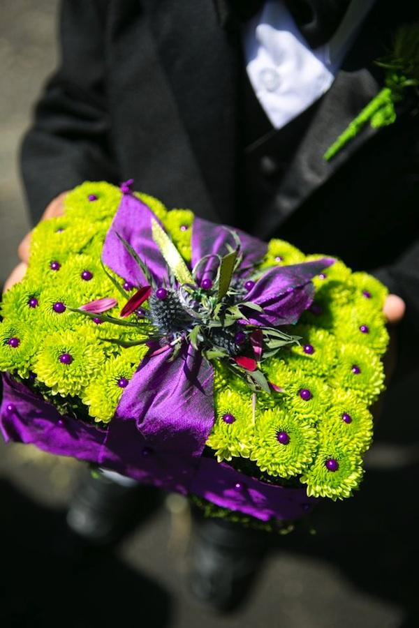 Wedding Wednesday Purple Lime