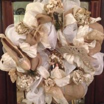 130 Best Images About Diy Bridal Shower & Wedding Wreaths On