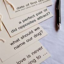 15 Creative & Fun Wedding Guest Book Ideas