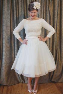 17 Best Ideas About 50s Wedding Dresses On Emasscraft Org