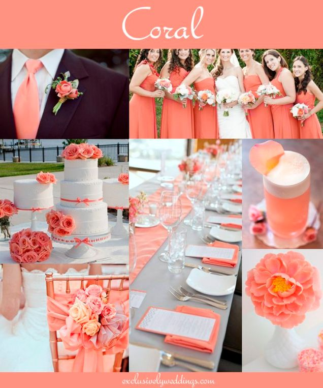 17 Best Ideas About Coral Wedding Decorations On Emasscraft Org