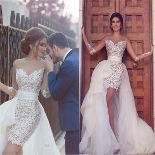 17 Best Ideas About Detachable Wedding Dress On Emasscraft Org
