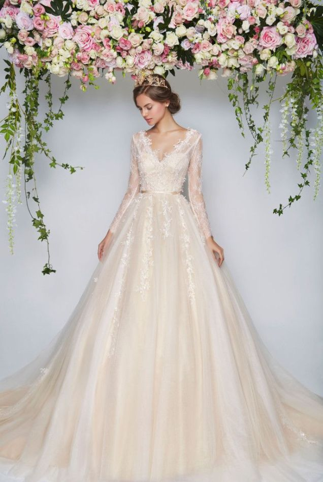 17 Best Ideas About Floral Wedding Dresses On Emasscraft Org