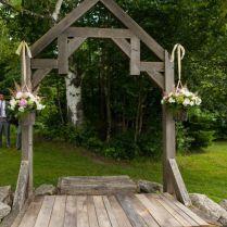 17 Best Ideas About Rustic Wedding Arbors On Emasscraft Org