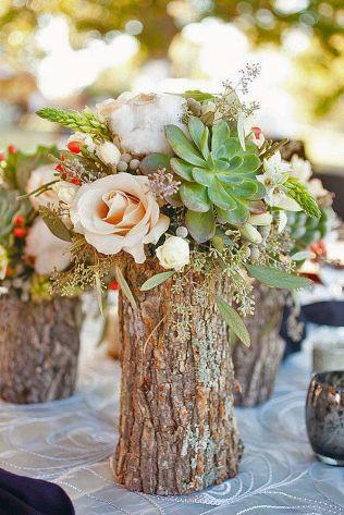 17 Best Ideas About Rustic Wedding Centerpieces On Emasscraft Org