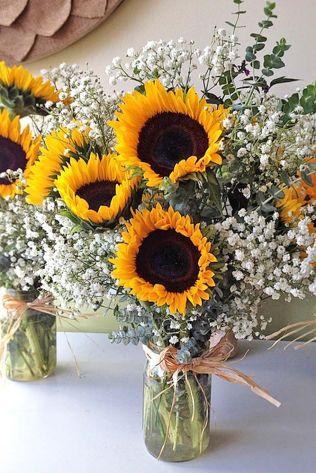 17 Best Ideas About Sunflower Wedding Centerpieces On Emasscraft Org