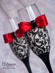17 Best Images About Dream Wedding (red, Black, And White Damask
