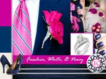 17 Best Images About Fuschia And Navy Wedding Ideas On Emasscraft Org