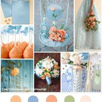 17 Best Images About Shades Of Blue Wedding Color Palette On