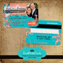 17 Best Images About Wedding Credit Card Invitations On Emasscraft Org