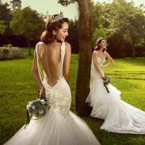 2015 Wedding Dresses Clothing Bride Wedding Couple Photo