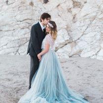 25 Best Ideas About Blue Wedding Dresses On Emasscraft Org