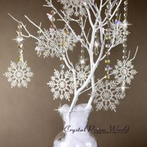 25 Best Ideas About Snowflake Centerpieces On Emasscraft Org