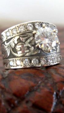 25 Best Western Wedding Rings Trending Ideas On Emasscraft Org