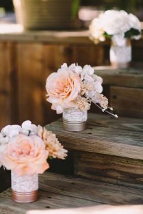 45 Charming Inexpensive Country Tin Can Wedding Ideas