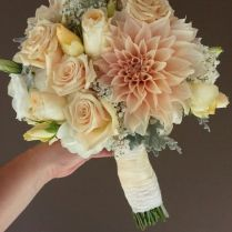 62 Best Images About Peaches & Cream (nude) Wedding Flowers On