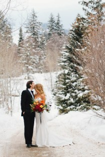 A Winter Wonderland Wedding At Sundance Resort