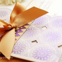African Inspired Wedding Invitations
