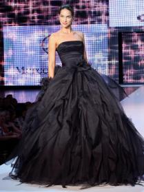 All Black Wedding Dress