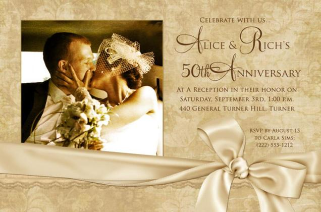 Best 50th Wedding Anniversary Decorations Ideas