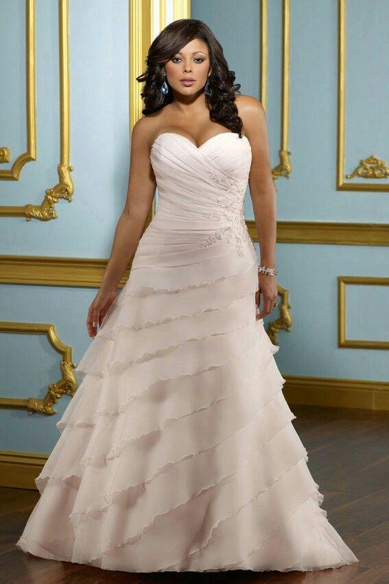 Best Wedding Dress For Curvy Women