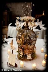 Wedding Birdcage Centerpieces