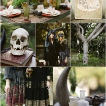 Black Wedding Color Ideas