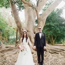 Bohemian Florida Garden Wedding Brittney Alex