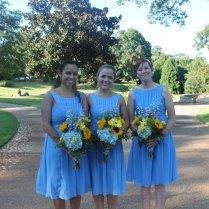Bouquet – Yellow & Blue