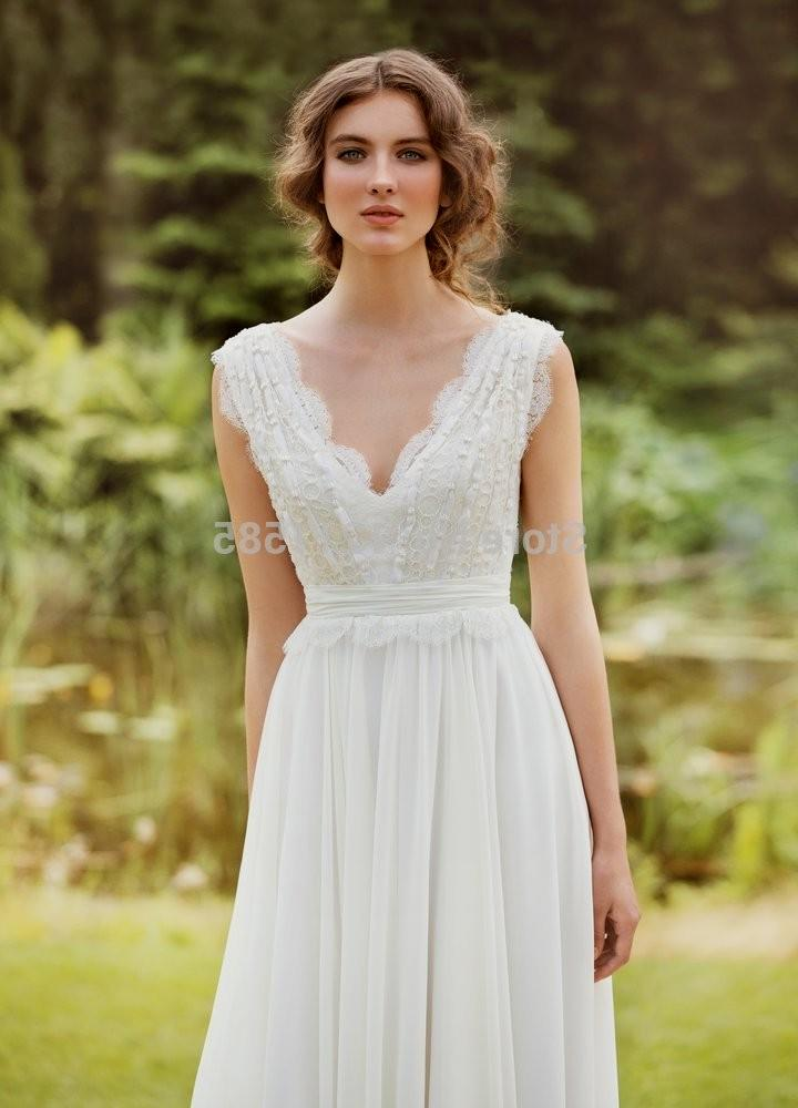 Casual Country Wedding Dress