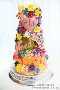 Choccywoccydoodah All You Need Is Love Wedding Cake Its My Dream