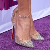 Christian Louboutin Ankle Strap Wedding Shoes Classywed Liked On