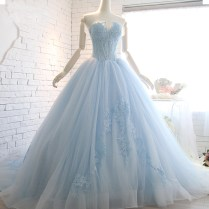 Compare Prices On Blue Wedding Gown