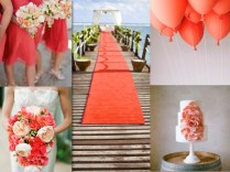 Coral Wedding Decorations To Make Cheerful Wedding