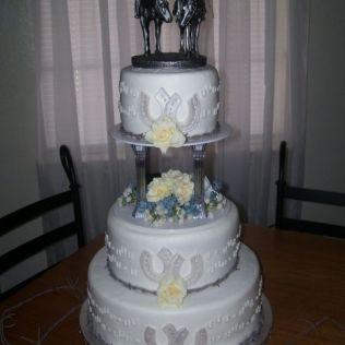 Cowboy Wedding Cake …