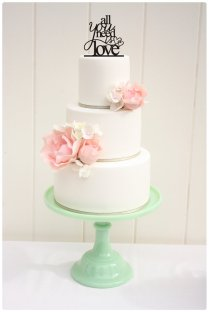 Custom Wedding Cake Topper All You Need Is Love Cake Topper With