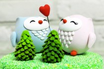 Cute Wedding Cake Toppers Handmade Wedding Finds From Etsy 3