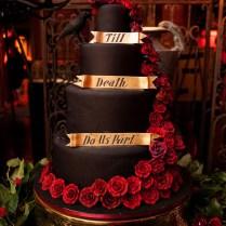 Dracula Inspired Halloween Wedding