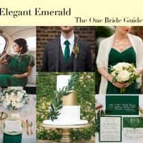 Elegant Emerald Mood Board