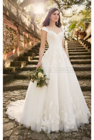 Emasscraft Org Lace Wedding Dress With Cap Sleeves
