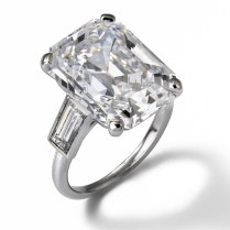 Emerald Cut Celebrity Engagement Rings