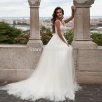 A Frame Wedding Dress