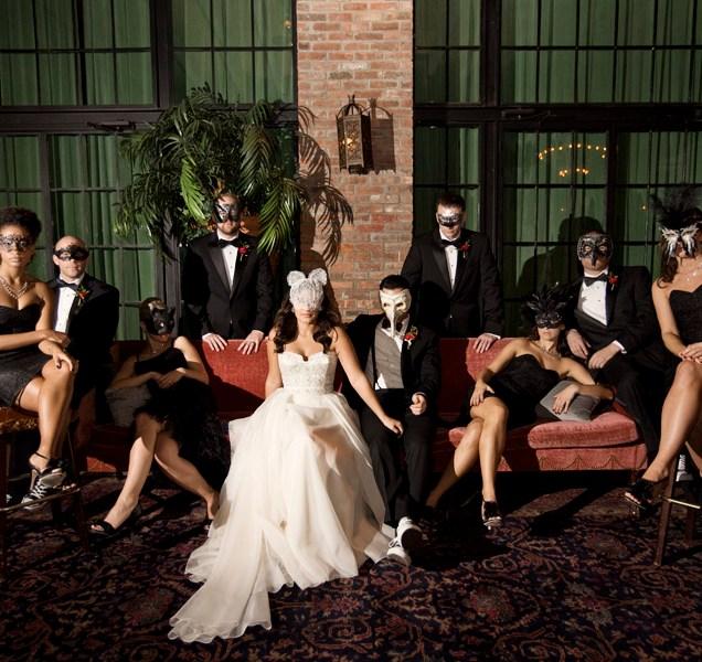 Fun Masquerade Ball Wedding Theme For A Wonderful Wedding Day